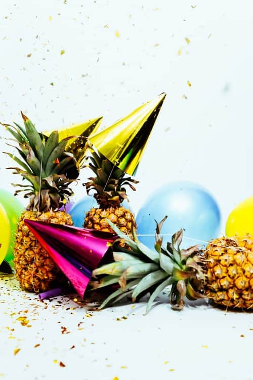 party supplies and props